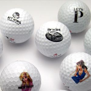 ゴルフボール名入れ印刷