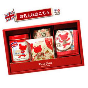 【ベビーティーギフト/名入れあり】紅茶とお揃いのタオルのセット(売切れ)