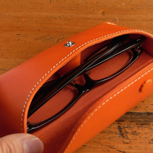 イタリアンレザー 名入れ眼鏡ケース(売切れ)